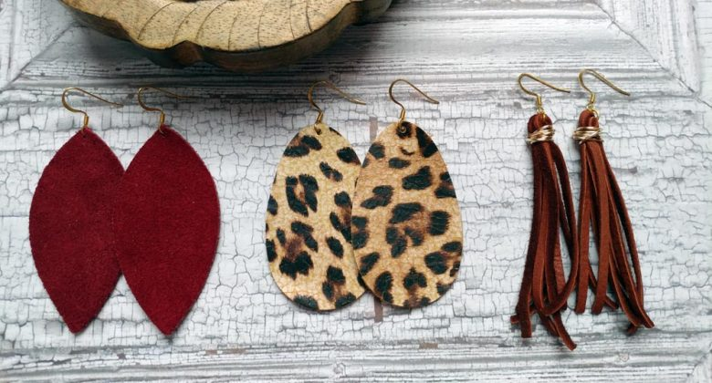 Trend Shop Earrings Suede